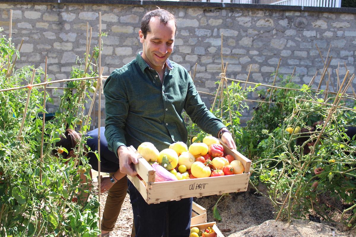 Des paniers de fruits et légumes bio en entreprise